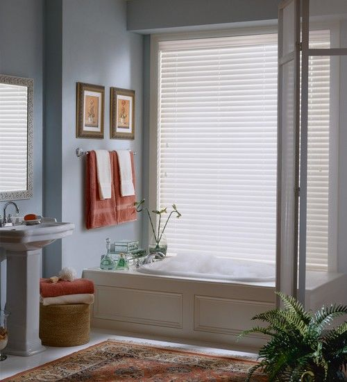 EverWood Blinds in Bathroom 1
