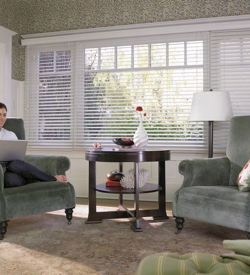 EverWood Blinds in Living Room