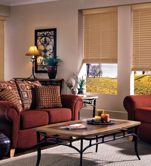 EverWood Blinds in Living Room 3