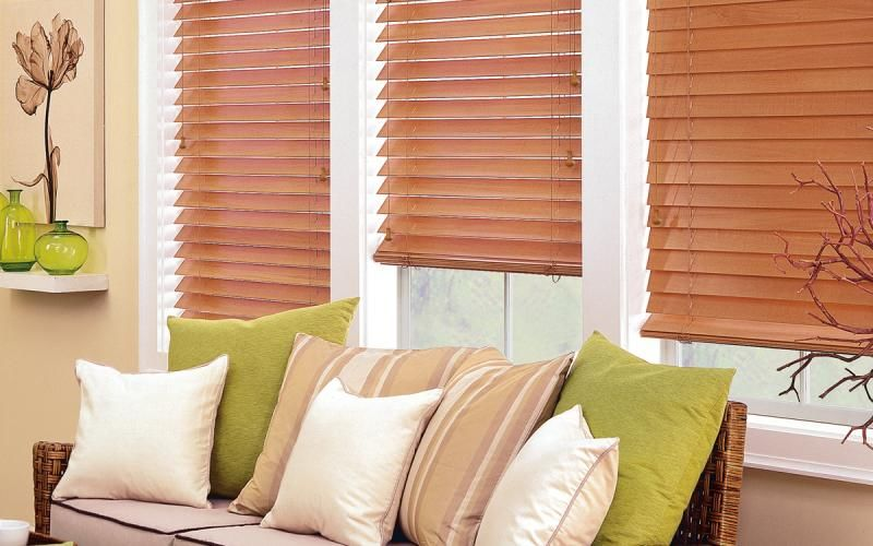 Blinds in the Living Room