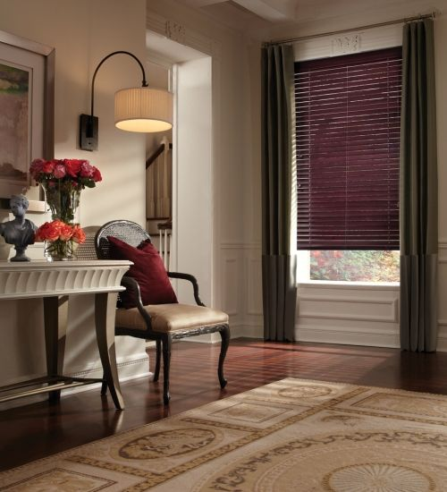 Parkland Wood Blinds in Den